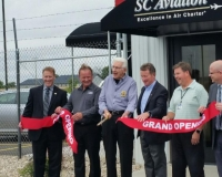 SC Aviation Ribbon Cutting