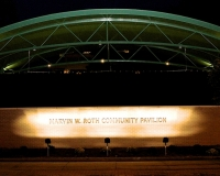 Donation Job -- Marv Roth Community Pavilion Night Shot